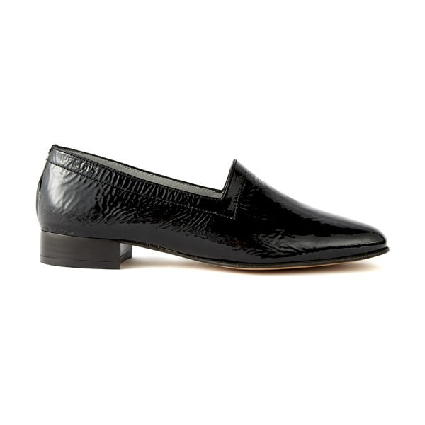 Ops&Ops No11 Black Patent heels side view