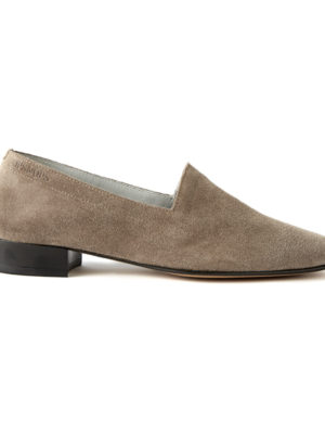 Ops&Ops No11 heels Mink Suede side view