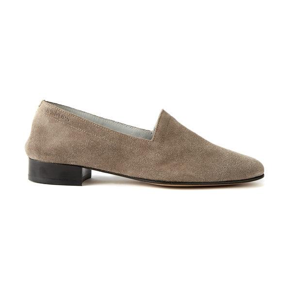 Ops&Ops No11 heels Mink Suede side view