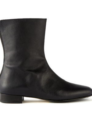 Ops&Ops No12 Boots Matte Black side view