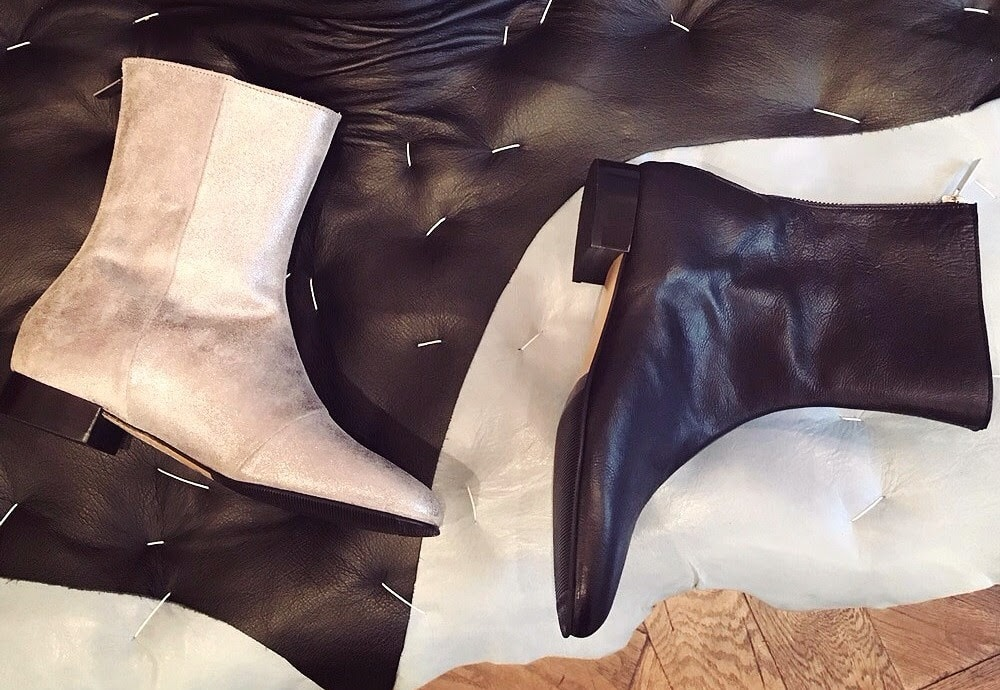 No12 Boots on sale at pop-up