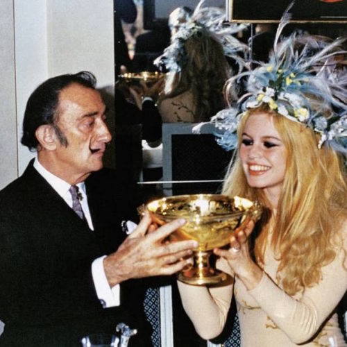 Salvador Dalí and Brigitte Bardot, support for Macmillan