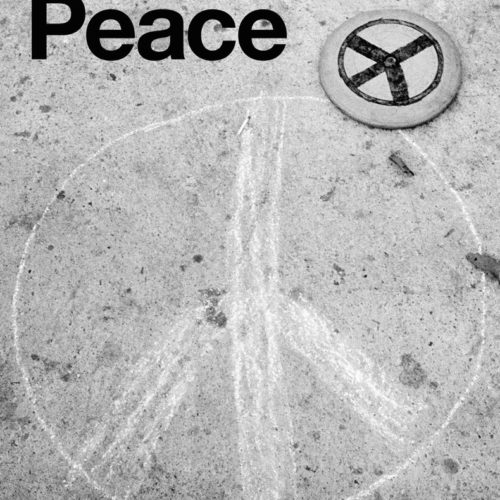 Poster for Peace book from Reel Art Press