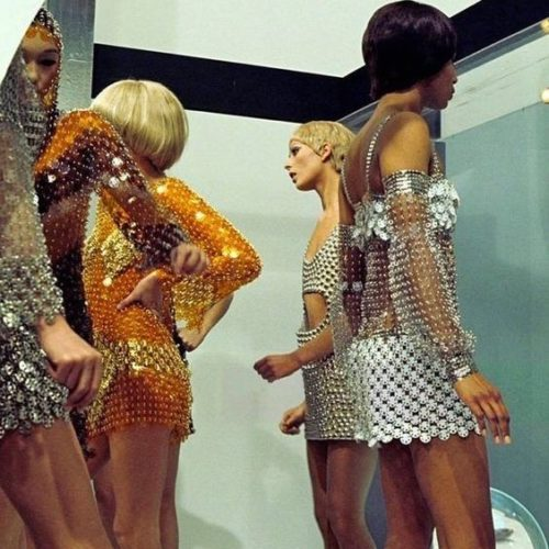 Paco Rabanne Space-Age dresses