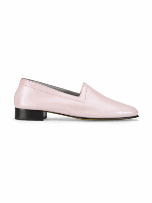 Ops&Ops No11 Pink Frost leather flats side view