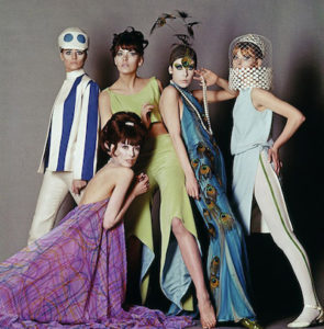 Models scene in Blow Up, the Swinging 60s film