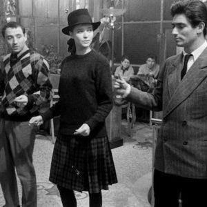 Anna Karina in dance scene in Godard film Band à Parte