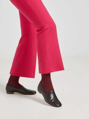 Ops&Ops No17 Class Black movement with striped socks and pink cropped trousers