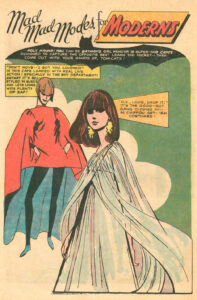 Mad Mad Modes for Moderns comic book fashion illustations