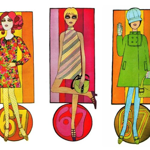 Caroline Smith illustration in Petticoat magazine 1967
