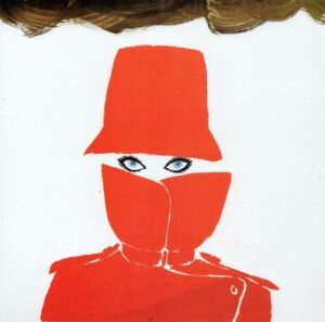 René Gruau raincoat and hat ad illustration