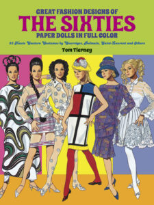 The Sixties Paper Dolls Haute Couture by Tom Tierney book cover