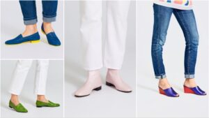 Ops&Ops footwear styles worn with jeans