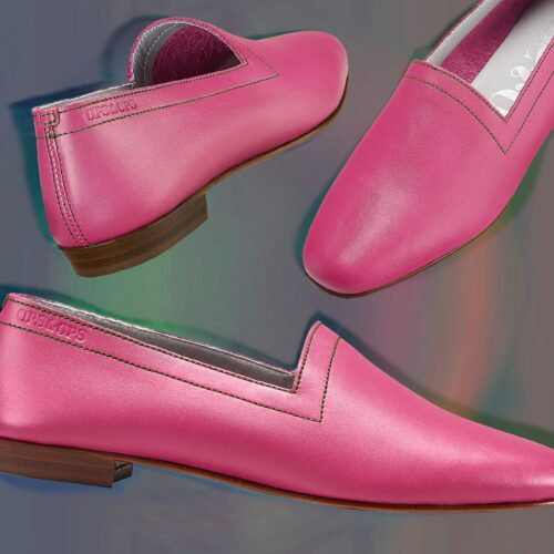 Flavour of the month, Guava leather flats