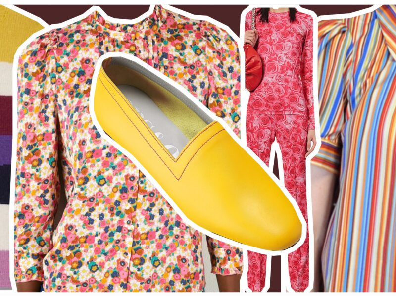 Colman's Mustard with clothing from blog post