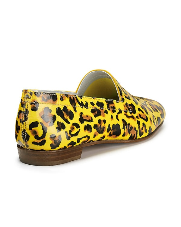 Ops&Ops No10 Leopard leather loafers. Flavour of the month for August, back