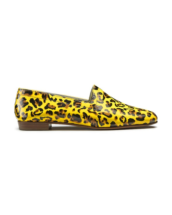 Ops&Ops No10 Leopard leather loafers. Flavour of the month for August, side