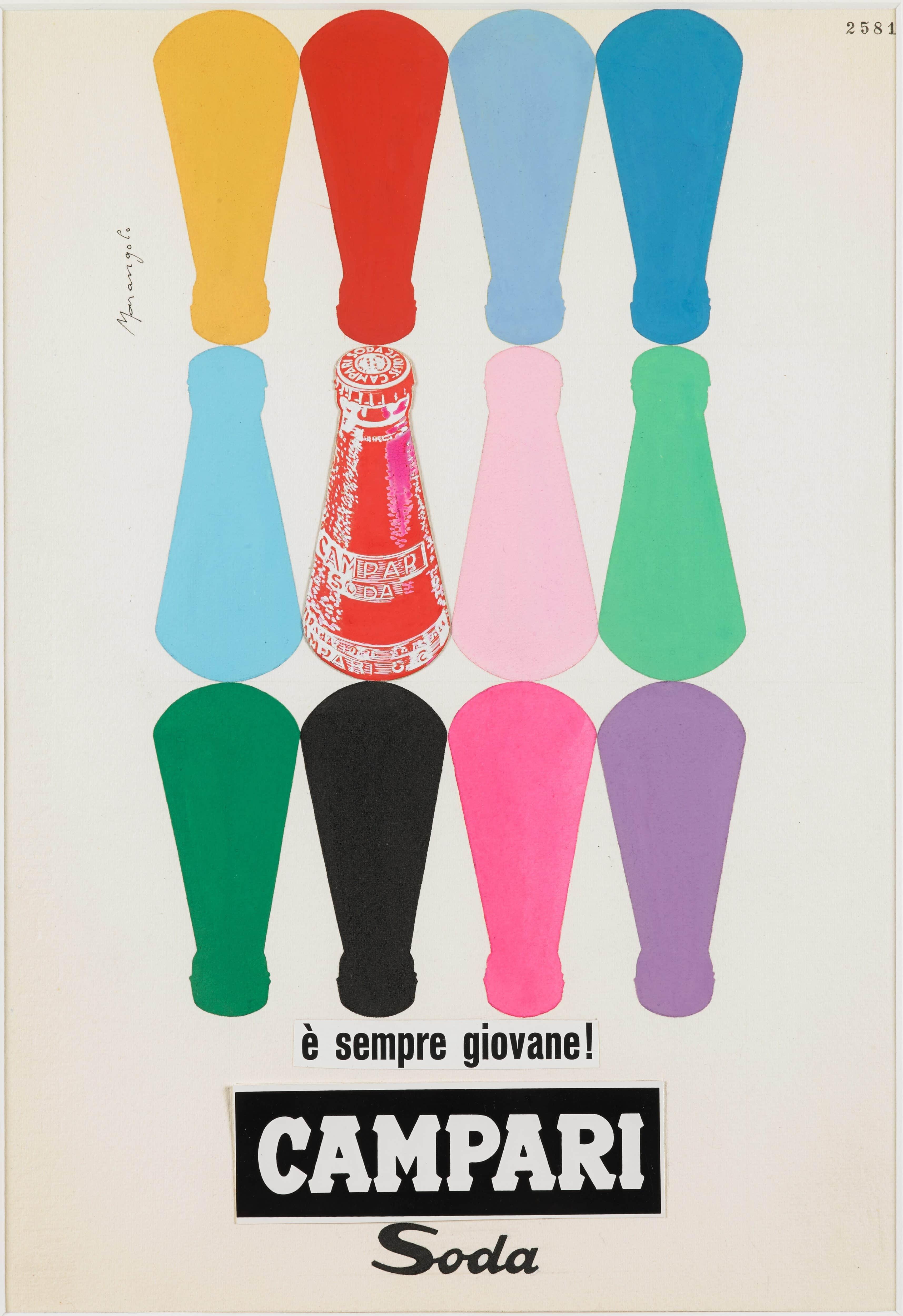 Campari and soda, forever young, 1960s, Franz Marangolo