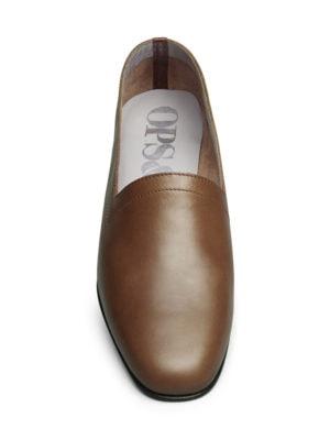 Ops&Ops No11 Block Heels Cinnamon, front