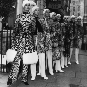Christian Dior Animal Print fashion, 1967