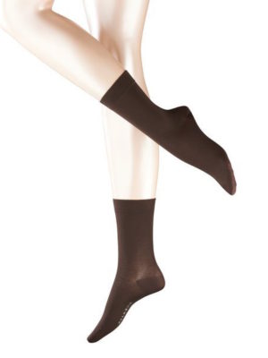 Falke Cotton Touch Dark Brown