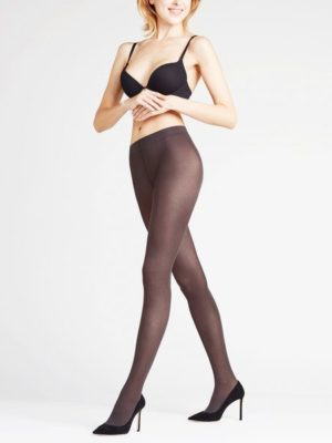 Falke Matt Deluxe 30 Denier Tights, Anthracite