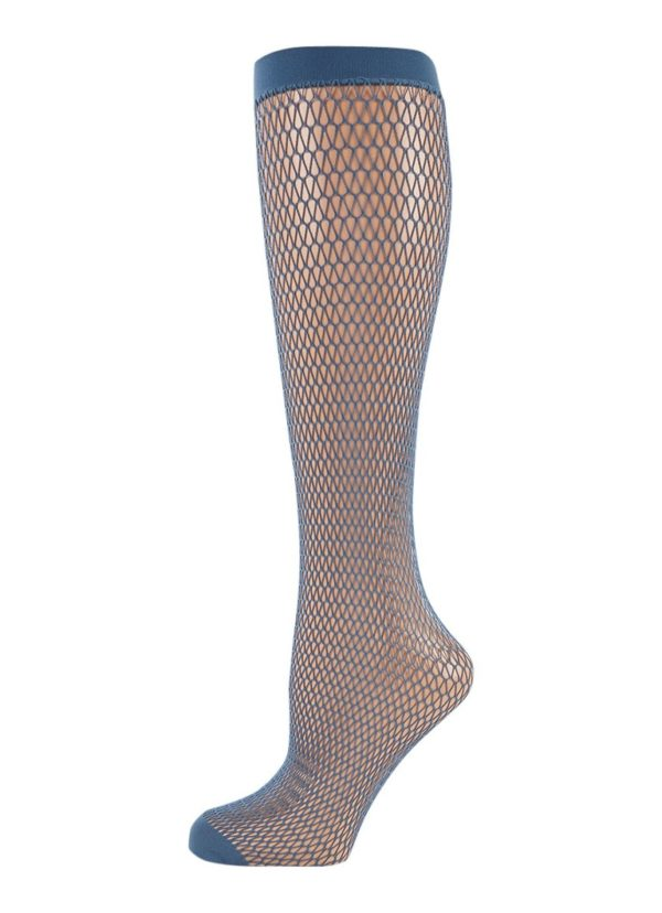 Falke Fish Trap Knee-High Socks in Baltic Blue