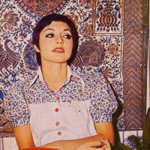 Camouflage: Googoosh in synch with the decor