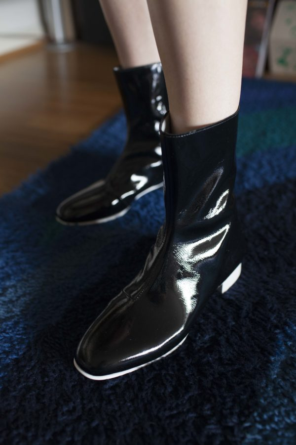Ops&Ops No12 boots Liquorice