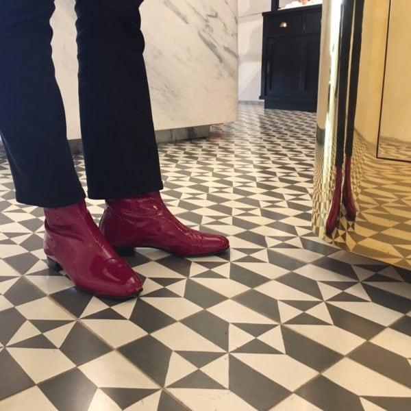 Ops&Ops No12 Dark Cherry boots