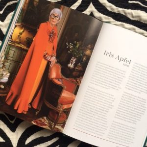 Iris Apfel b.1921. Fashion Chronicles