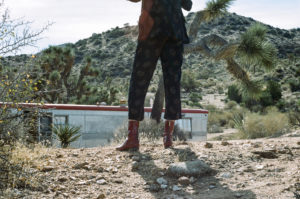 Ops&Ops Dark Cherry No12s trek the Californian desert