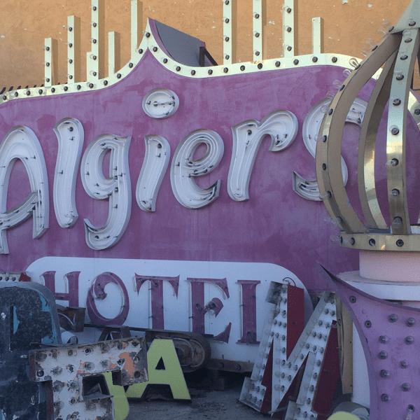 Las Vegas Neon Museum: Algiers