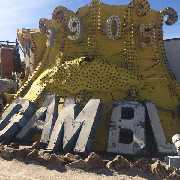 Las Vegas Neon Museum: Gamble