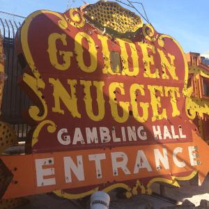 Las Vegas Neon Museum: Golden Nugget