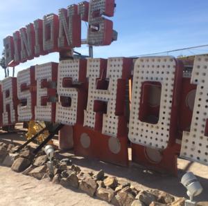 Las Vegas Neon Museum: Binion's Horseshoe