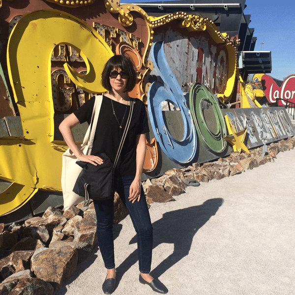 Las Vegas Neon Museum: Teri at the Lido