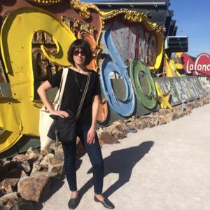 Las Vegas Neon Museum: Teri at the Lido