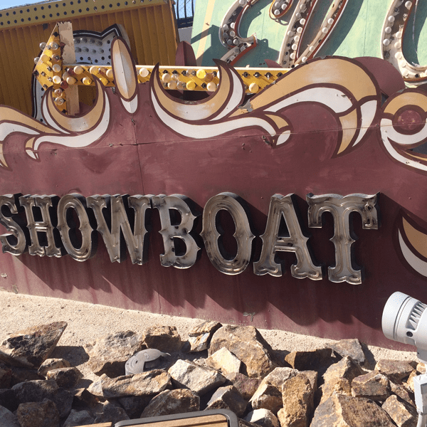 Las Vegas Neon Museum: Showboat