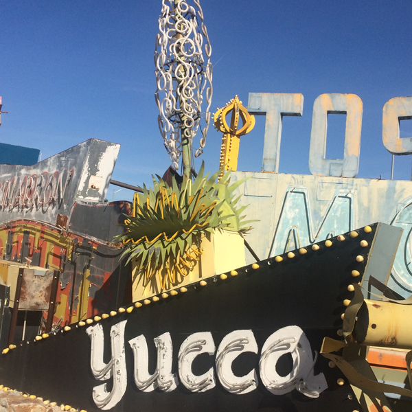 Las Vegas Neon Museum: Yucca