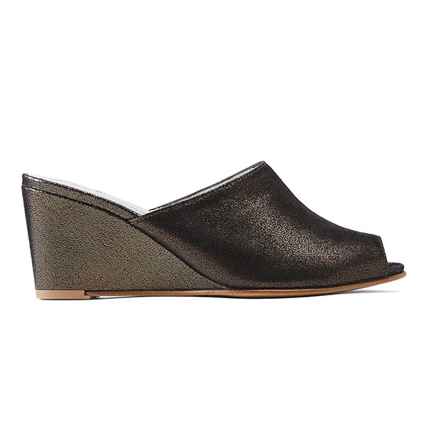 Ops&Ops No15 Mules Black Granite, side view