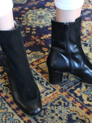 Ops&Ops No16 boots Black Duo