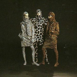 Leon Bing, Peggy Moffitt and Ellen Harth in animal print, Basic Black
