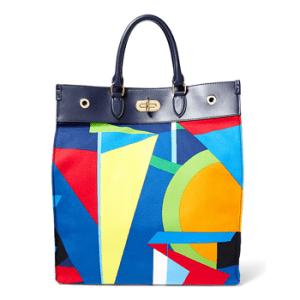 Ralph Lauren bateau-print tote bag