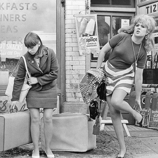 The Girls arrive in London