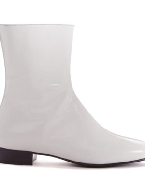 Ops&Ops No12 Boots Opaque White, side view