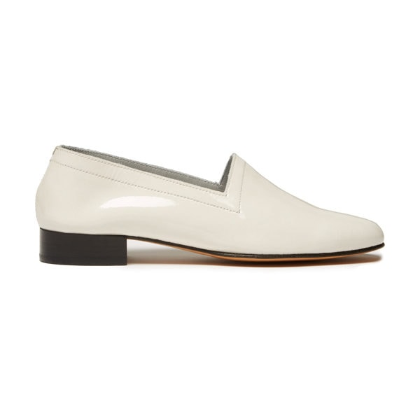 Ops&Ops No11 White Sand patent leather side view
