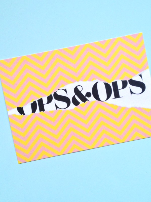 Ops&Ops gift card