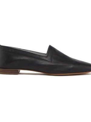 N010 Matte Black flats, side view