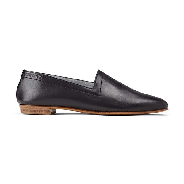 Ops&Ops No10 flats Classic Black, side view